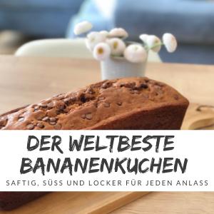 Rezept Bananenkuchen – Köstlich, mit oder ohne Thermomix!