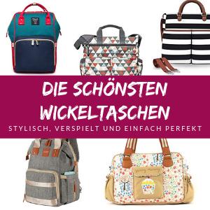 Die besten Wickeltaschen – Schöne Taschen und Rucksäcke für Windeln