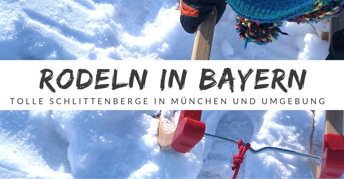 Rodeln in München und Umgebung - Alle Rodelhügel auf einen Blick