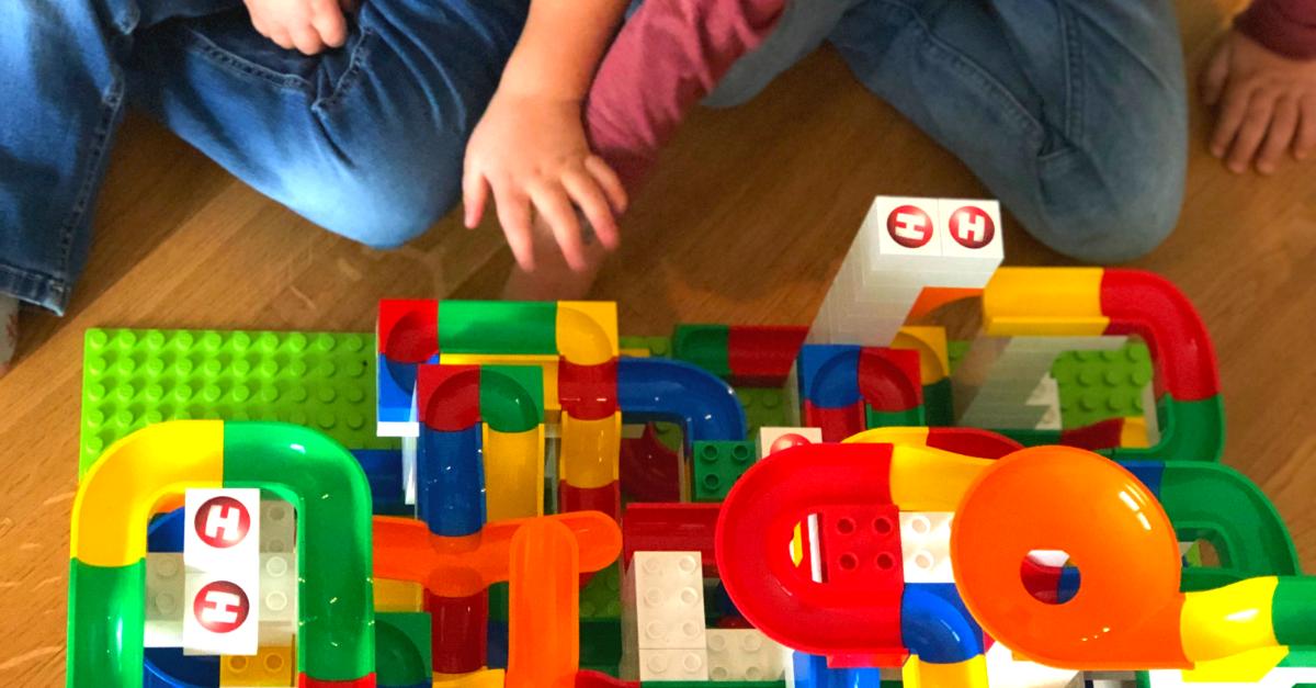 Hubelino Kugelbahn - Unsere Erfahrung zur LEGO-kompatiblen Kugelbahn
