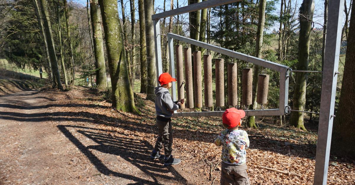 Wanderung Kinder Rimsting
