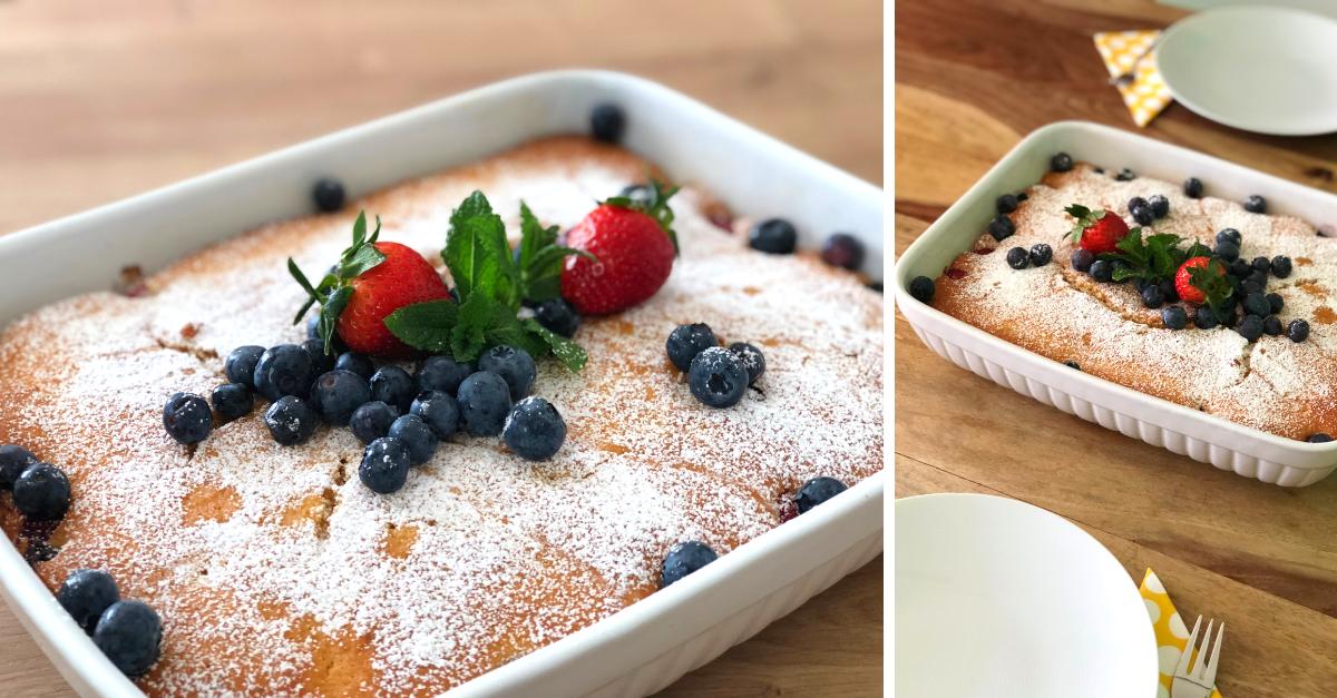 Rezept Omas Lockerer Und Saftiger Beerenkuchen Aus Dem Reindl
