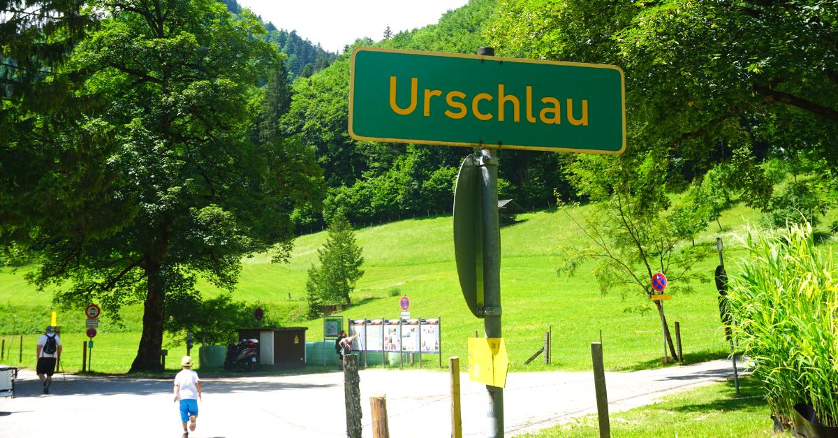 Urschlau Wanderparkplatz