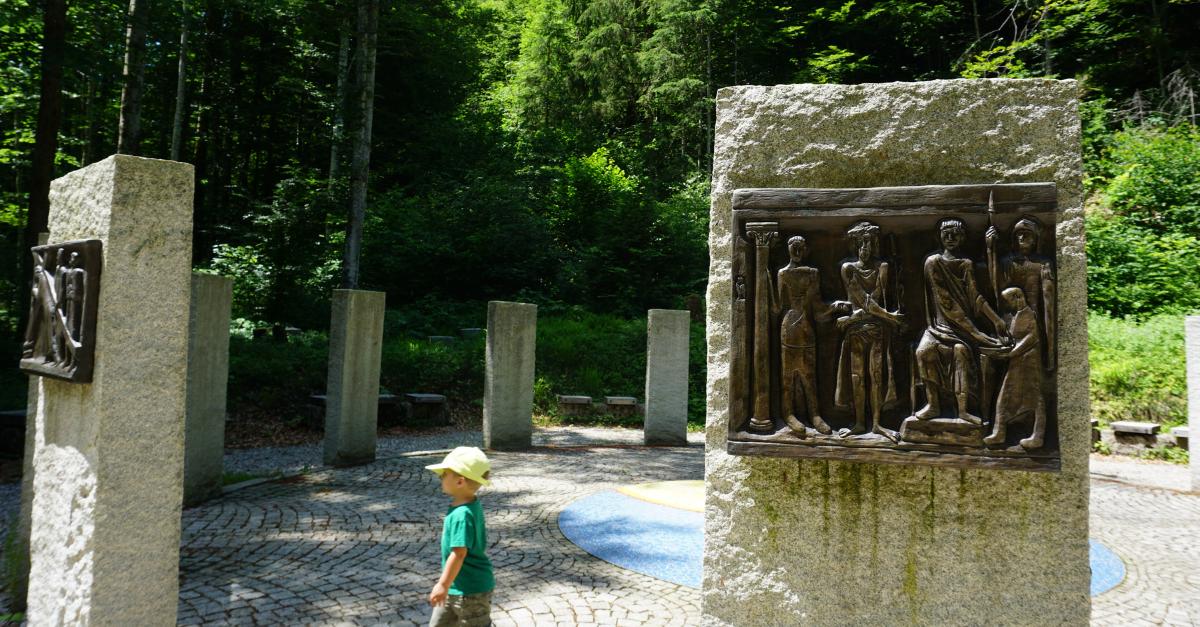 Wanderung Kinder Chiemgau