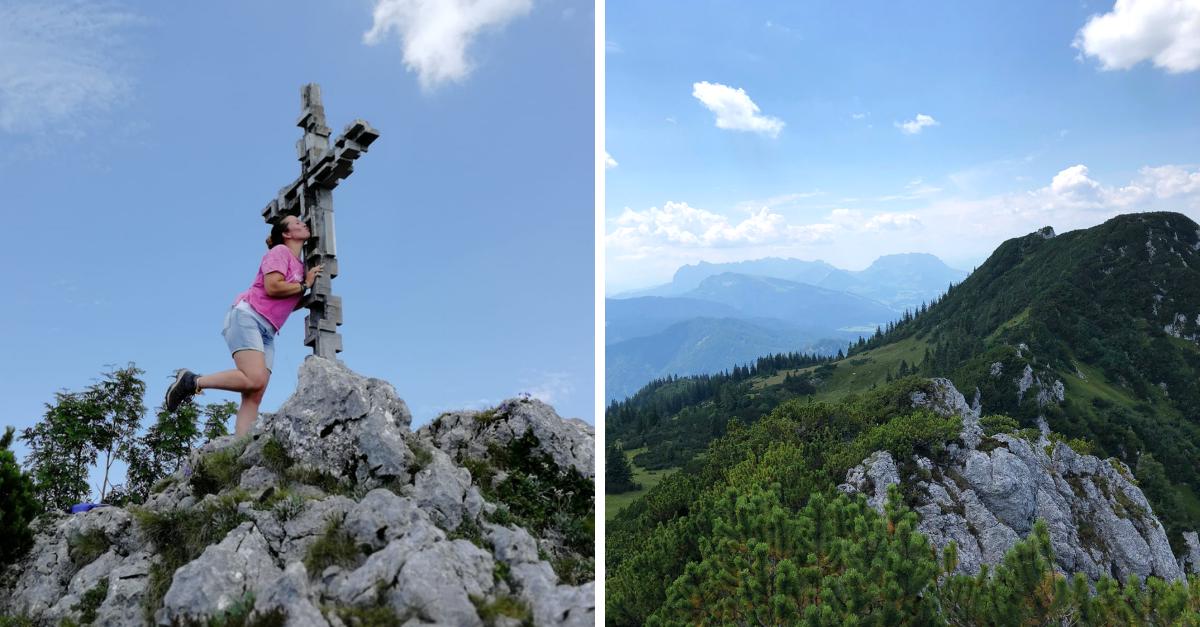 Gipfel Hoerndlwand
