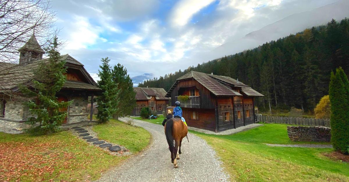 Reiterurlaub in Kärnten mit Kindern