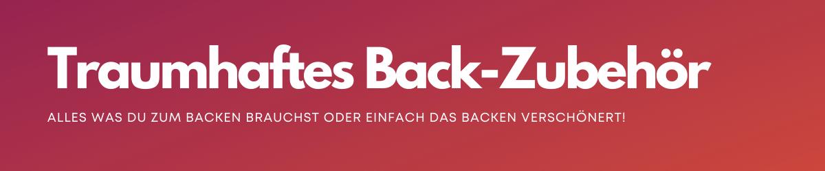 Back Zubehör