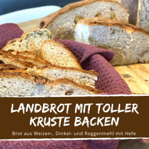 Brot backen Bauernbrot