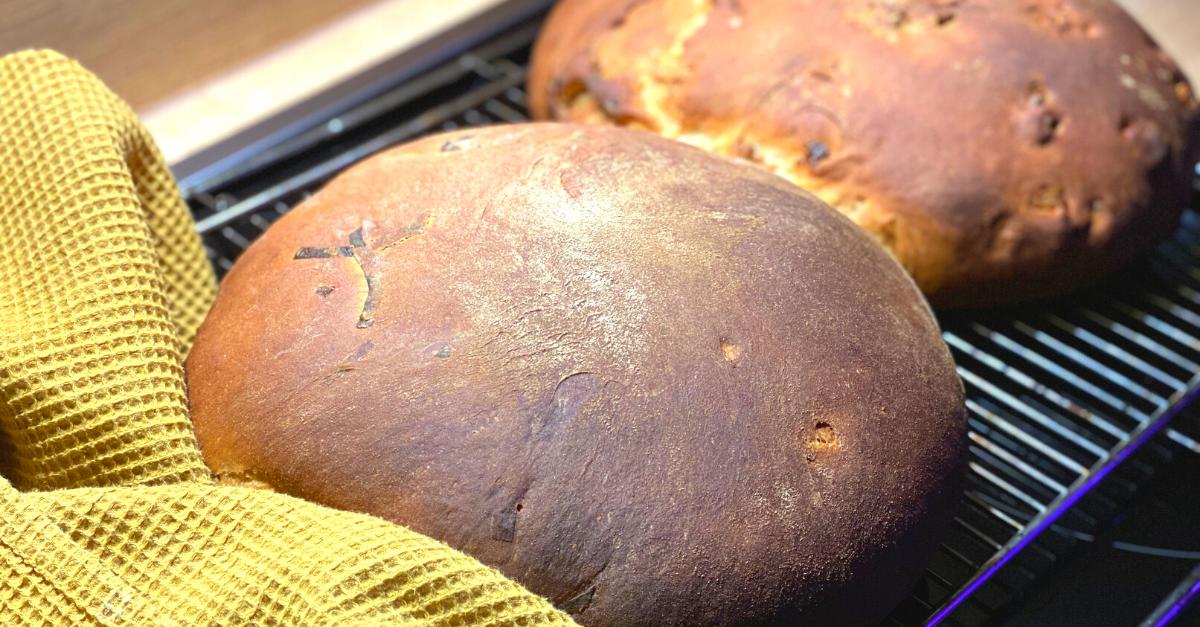 Brot backen Kruste