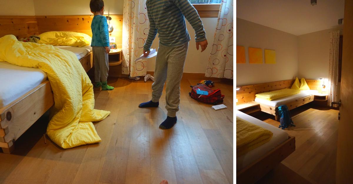 Kinderzimmer Weberhof Südtirol