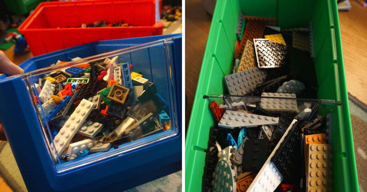 Lego Aufbewahrung sortieren