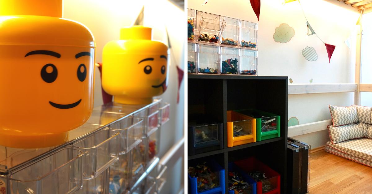 Lego Station Boxen