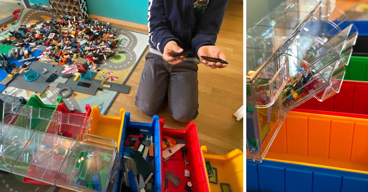 Lego Steine sortieren