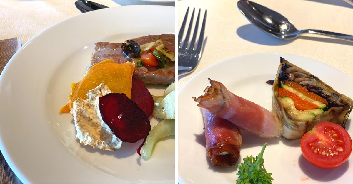 Abendessen Alpenhof