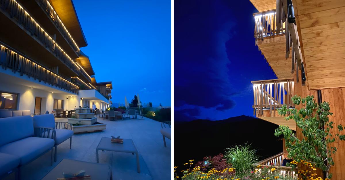 Alpenhof Suedtirol Nacht