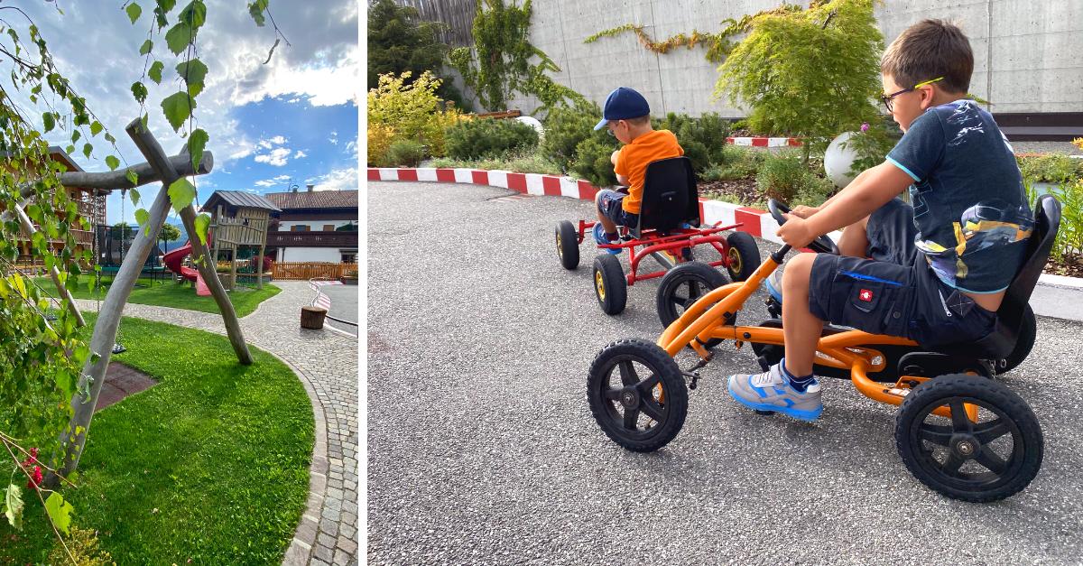 Kinder Spielplatz Alpenhof