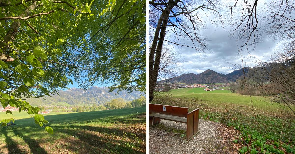 Leichte Wanderung Aschau Chiemgau