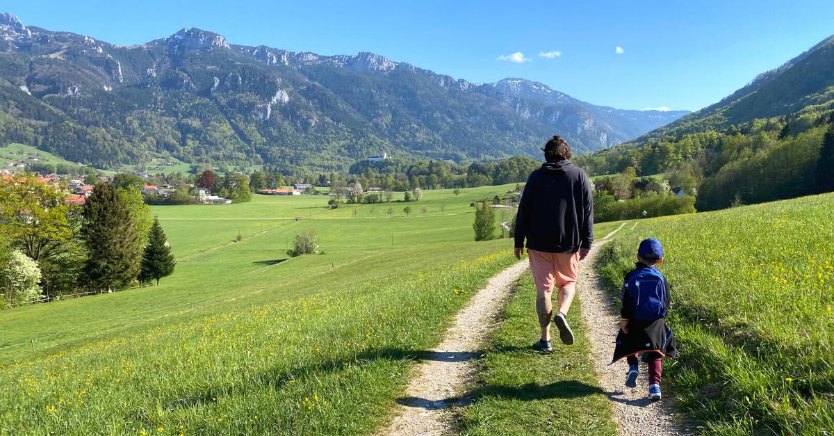 Wanderung Aschau im Chiemgau