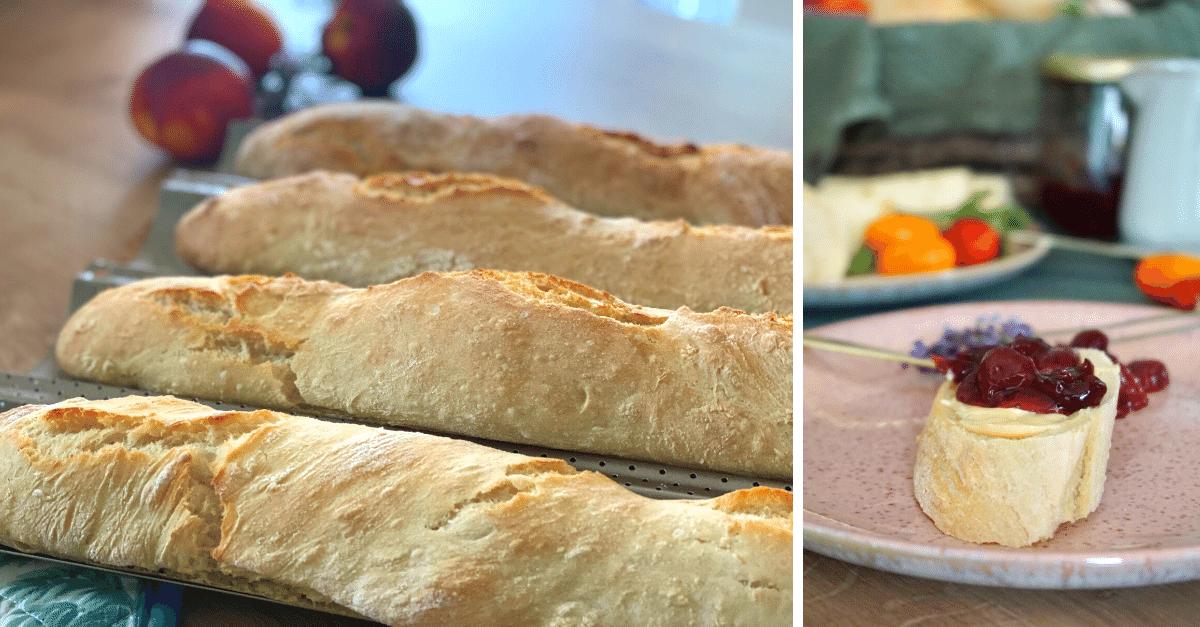 Französisches Baguette einfach